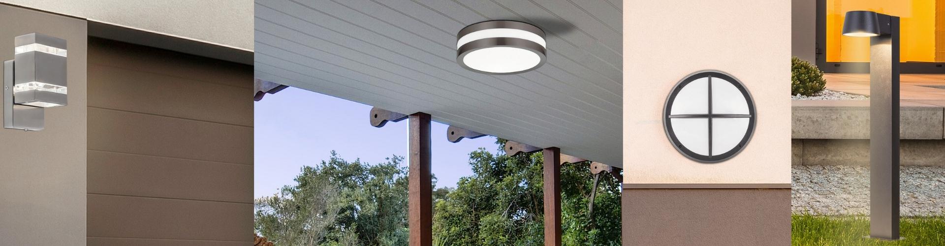 Vonkajšie svetlá so senzorom